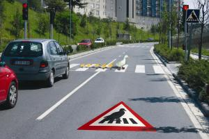 PREMARK® preformed thermoplastic road marking makes the world a safer place